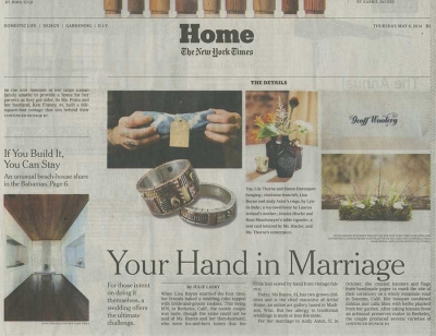NY Times: Your Hand in Marriage