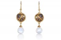 Talisman Moonstone Briolette Earrings