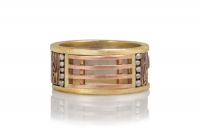 Talisman Wide Wedding Band