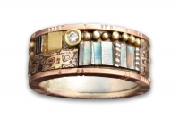 14K Rose Gold Tunitis Creek Ring with Diamond