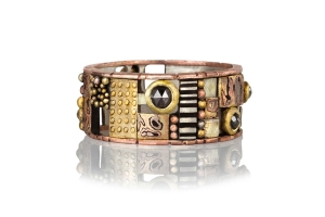 Rustic Diamond Mosaic Band