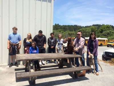 Pescadero High School Students Discover Ancient Arts