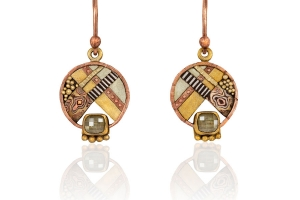 Tunitis Creek Small Dangle Diamond Earrings