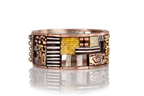 Tunitis Creek Rose Gold Ring with Cutout Windows